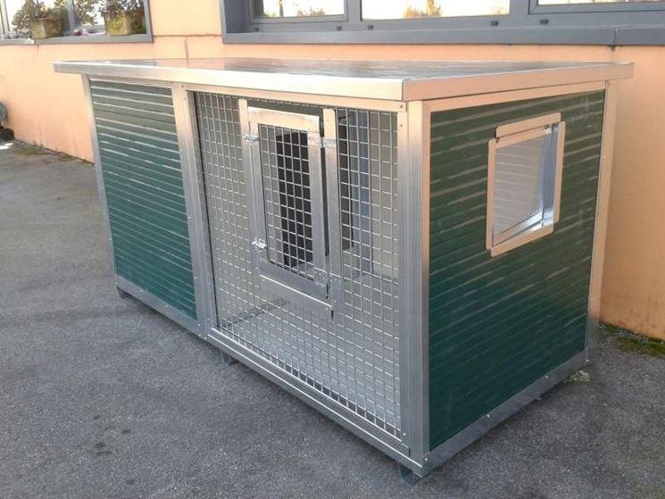 cucce per cani Retex con veranda