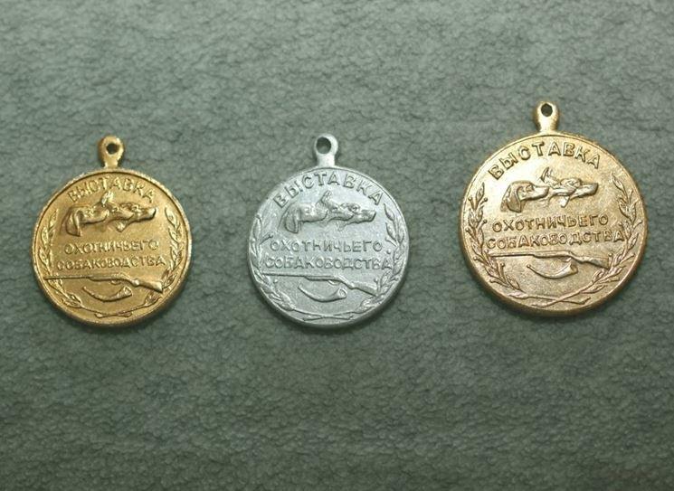 medaglie cani