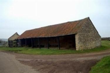 Vecchia stalla per bovini