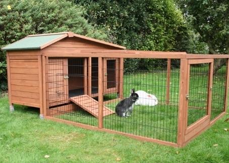 Gabbie conigli conigli for Awesome rabbit hutches