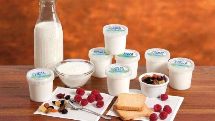 prodotti con latte di capra