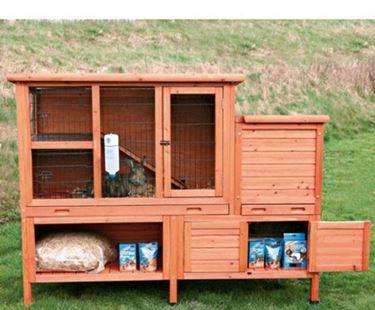 Gabbietta per conigli nani