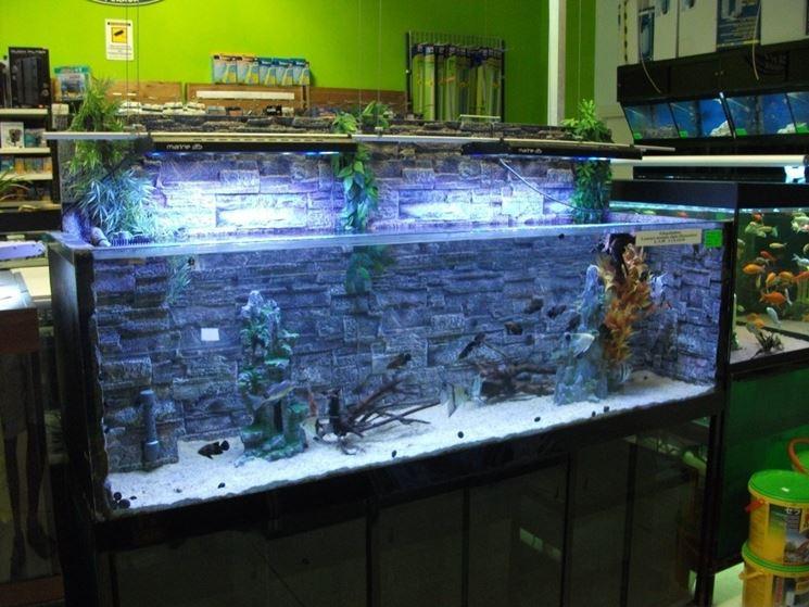 Acquari da arredamento accessori per acquario acquari for Filtro vasca pesci