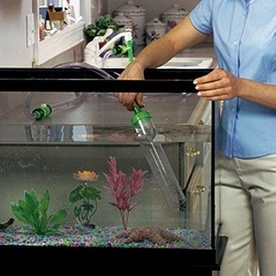 Pulizia acquario accessori per acquario for Pompa per pulizia acquario