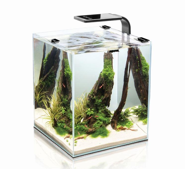 Esempio di plafoniera per acquario programmabile